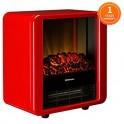 Dimplex 英國電力寶 Microfire Red 直立式火爐